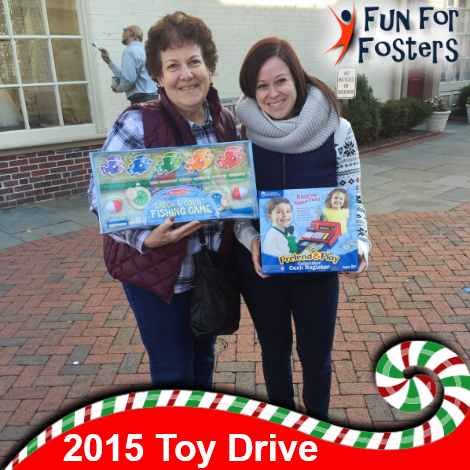 Thanks to everyone who came out and donated time and toys to our 3rd Annual Toy Drive! Fun for Fosters: http://funforfosters.org/