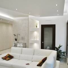 Salas de estilo moderno por Salvatore Nigrelli Architetto