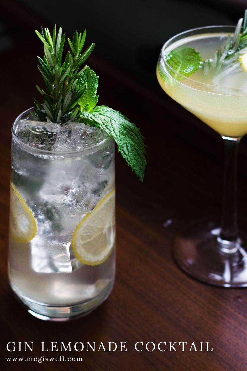 Gin Lemonade Cocktail Meg Is Well Recipe Lemonade Cocktail Gin And Lemonade Lemonade