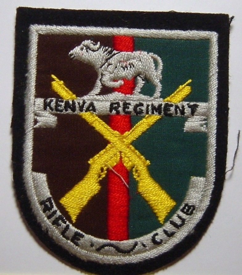 Kenya Regiment Patch Badge | Law & Order - World Insignia