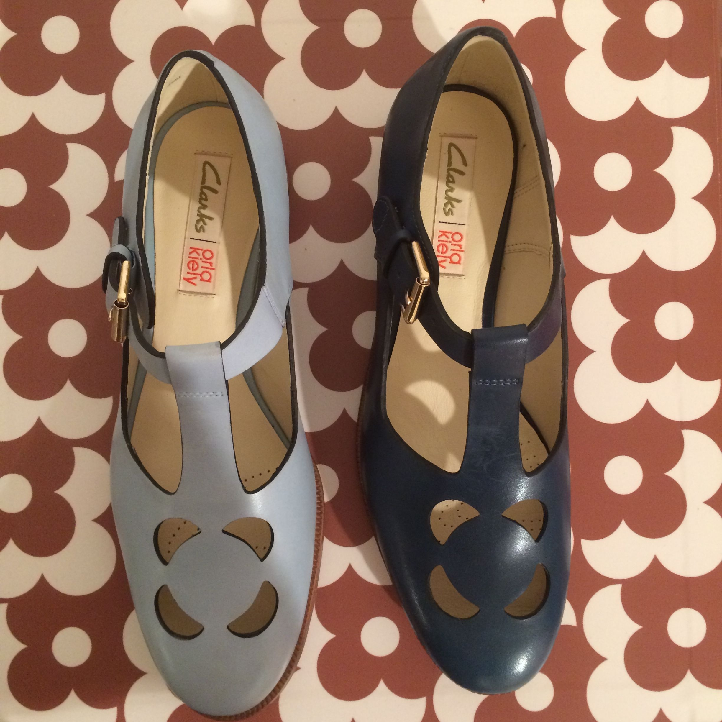 Orla Kiely for Clarks spring 2015   zapatos   Shoes
