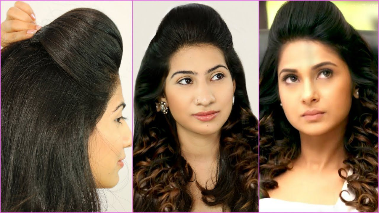 festive puff hairstyles every teenager must try jennifer winget
