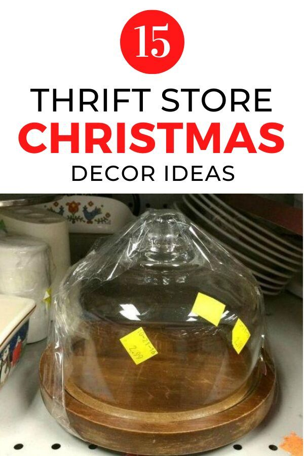 If you're looking for easy and cheap ways to decorate your home for the Holidays check out these thrift store christmas crafts ideas. These Christmas DIY crafts are perfect for decorating christmas tree and living room mantel on a budget. #hometalk