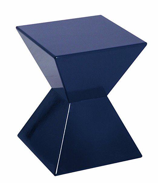 HAKU Möbel 87400 Beistelltisch 35 x 35 x 43 cm, rot Amazonde - beistelltisch für küche