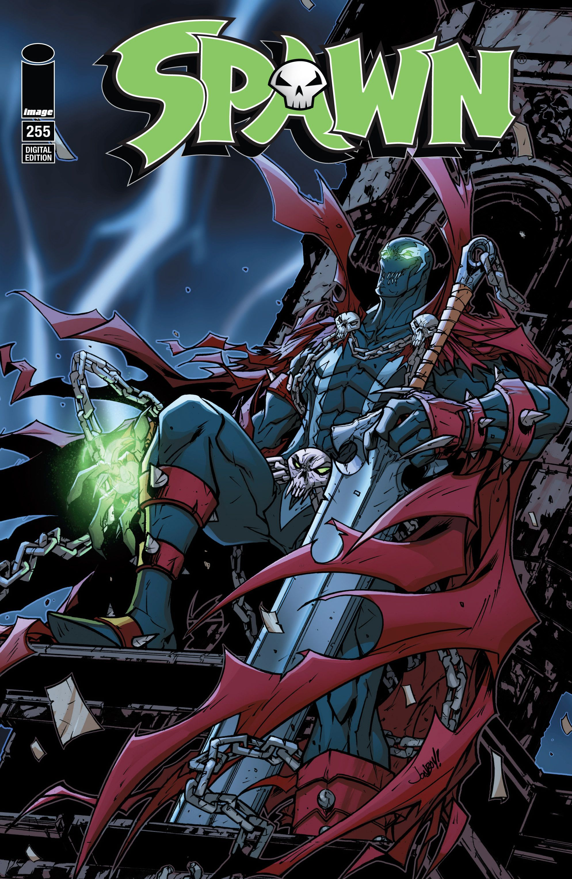Spawn Issue 255 Cover | Spawn | Pinterest