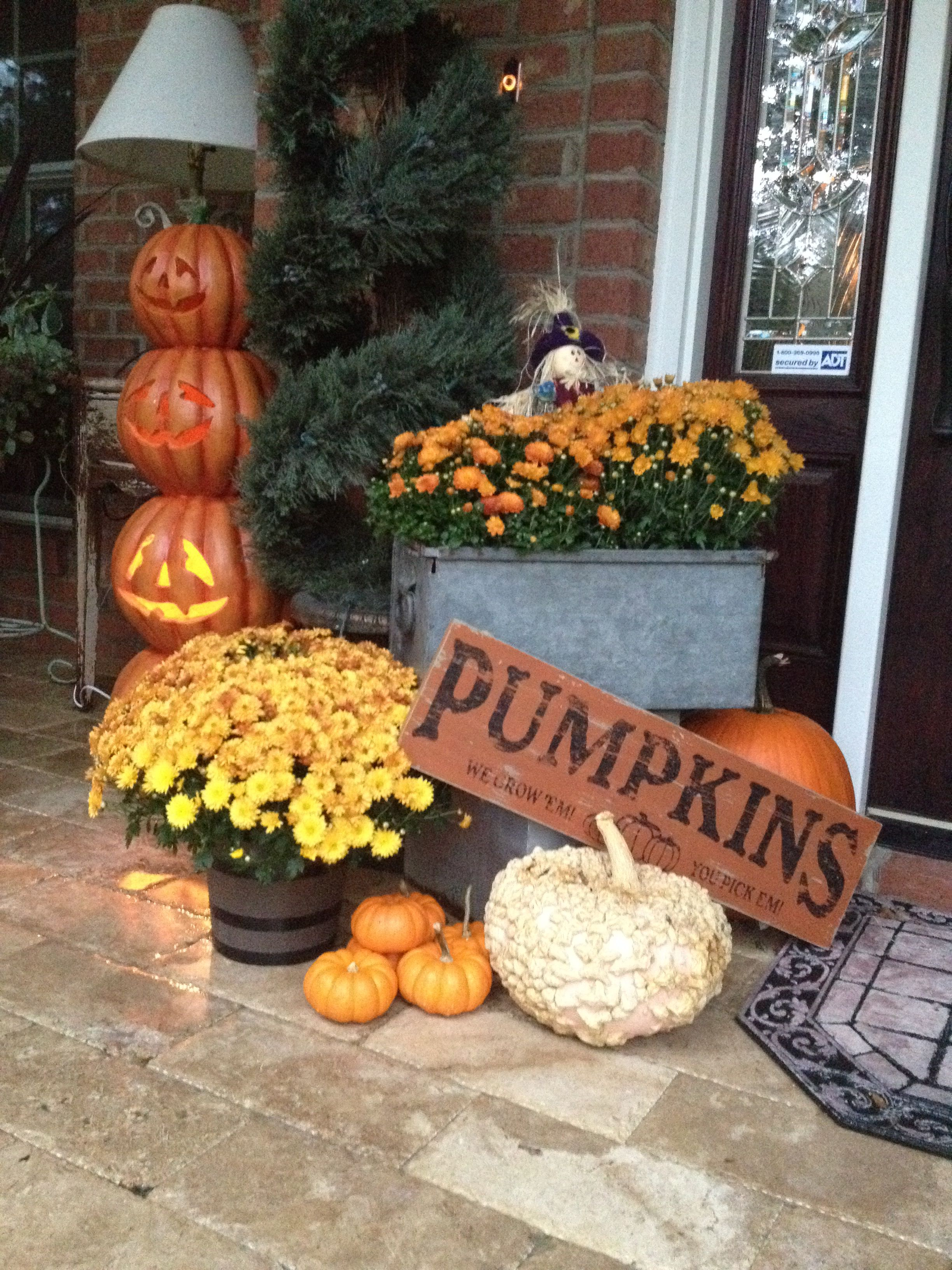Fall Decorating Fall Decorations Porch Fall Outdoor Decor Fall