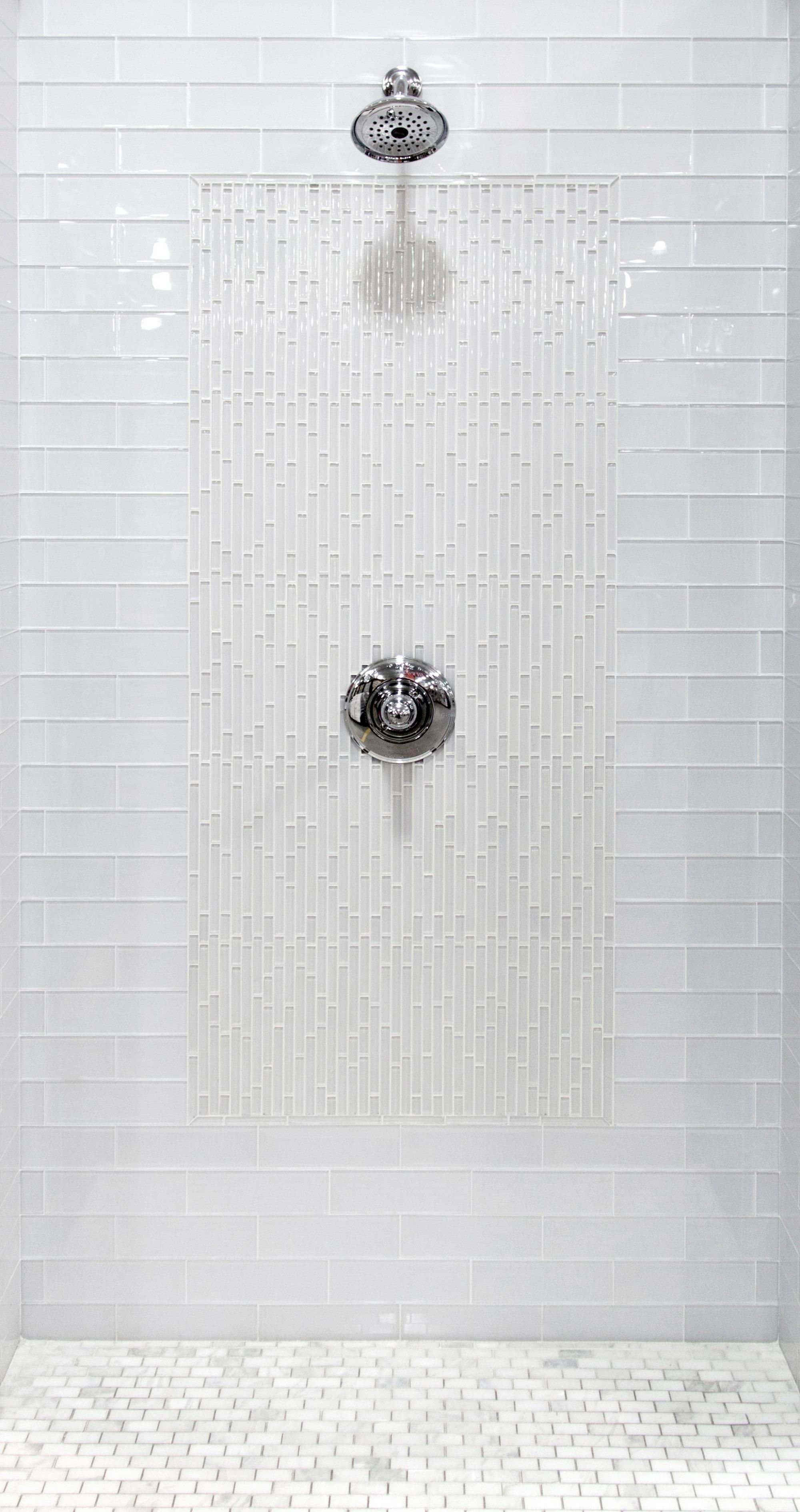 Pure Snow White Shiny Glass Tile 3in X 9in 913102063 Floor And Decor Glass Tile Bathroom Glass Tile Shower White Glass Tile