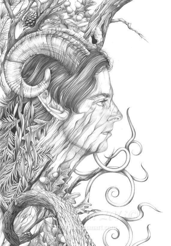 pagan adult colouring pages 2 - Adult Coloring Books 2