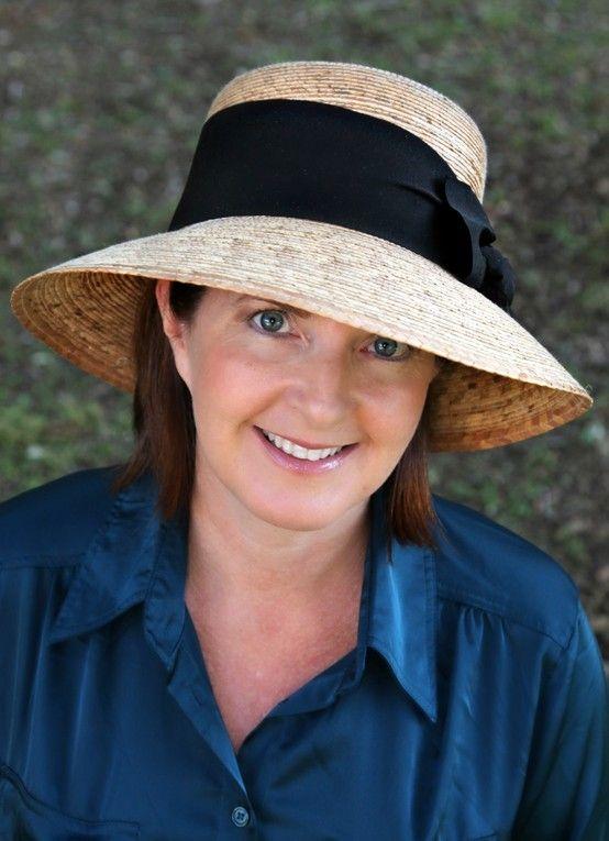e8366d116 Women's Somerset-Black Bow w/SSB   Sun Hats by Tula   Hats, Sun hats ...