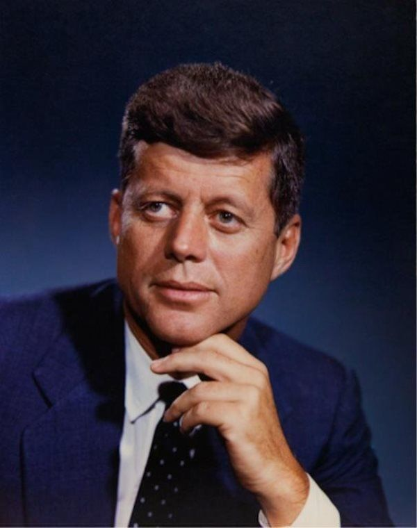 1960. John F. Kennedy par Fabian Bachrach. Peut être la première ...