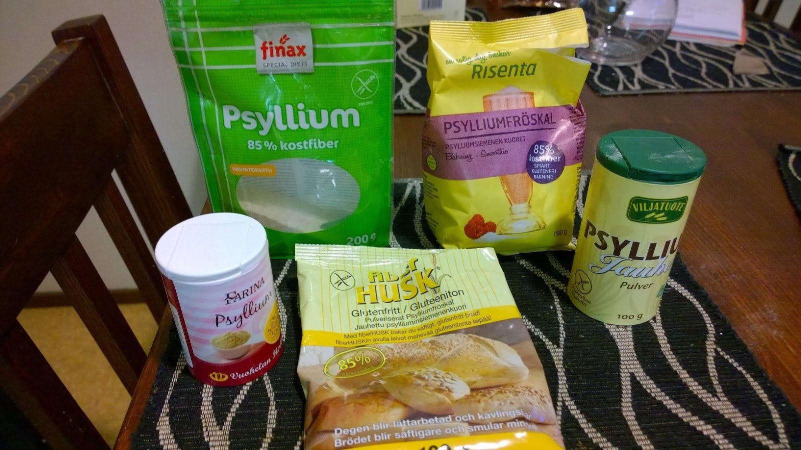 Gluteenitonta leivontaa: psylliumit testissä