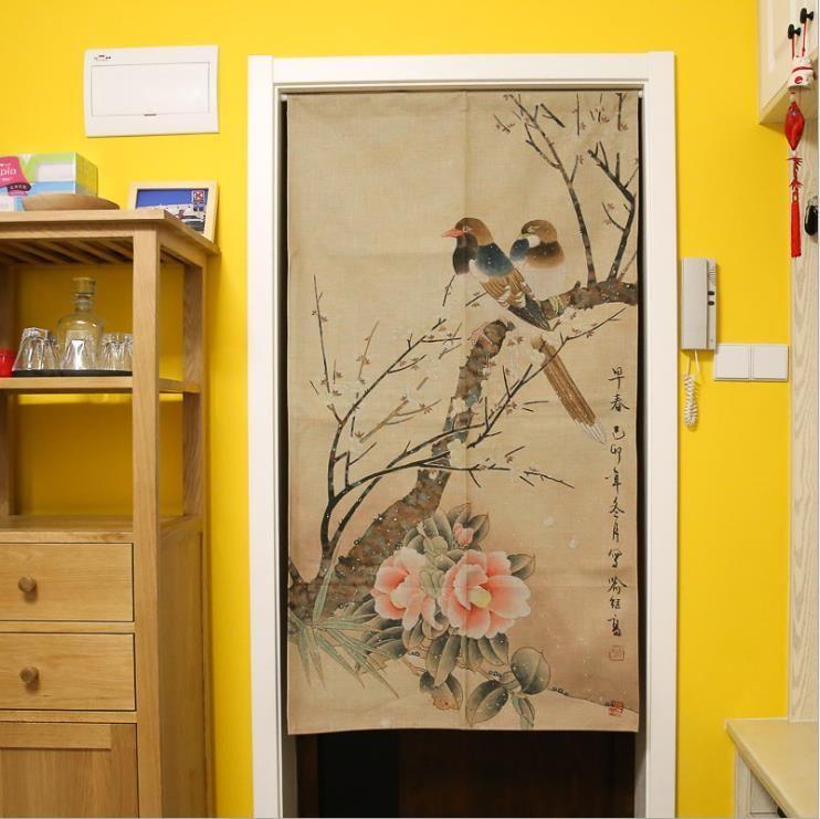 Xiaokenai 85x120cm 85x150cm Traditional Chinese Decorative Door