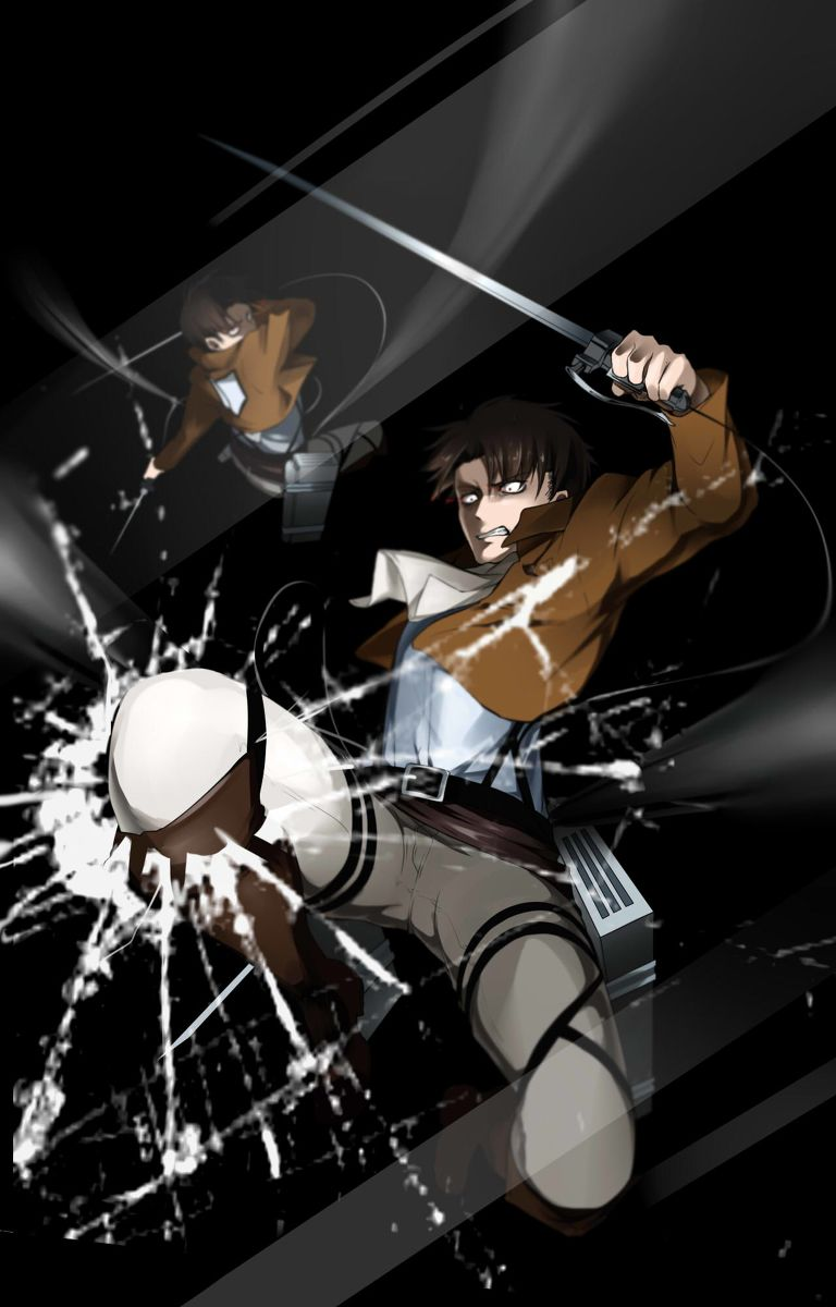"êヴァイ Ã'¢ãƒƒã'«ãƒ¼ãƒžãƒ³ Ç""»åƒ Anime Lock Screen Attack On Titan Anime"