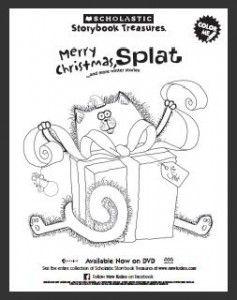 Scholastic: Merry Christmas Splat DVD Plus Download A