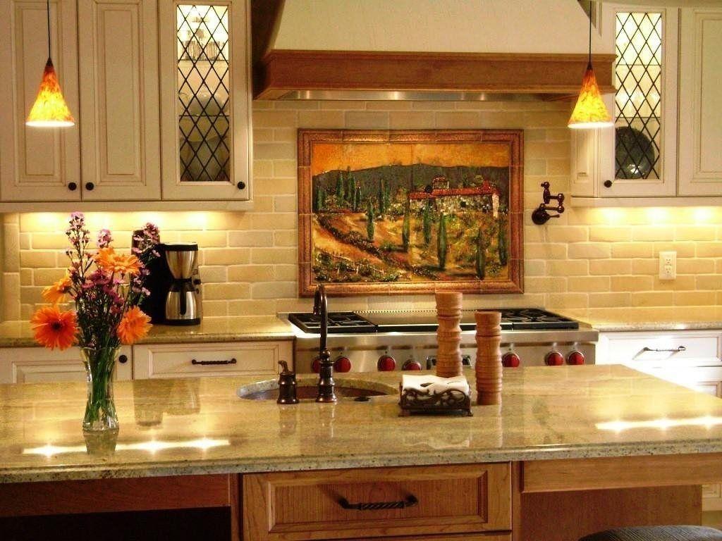italian art tuscan kitchen wall decor ideas intended ...