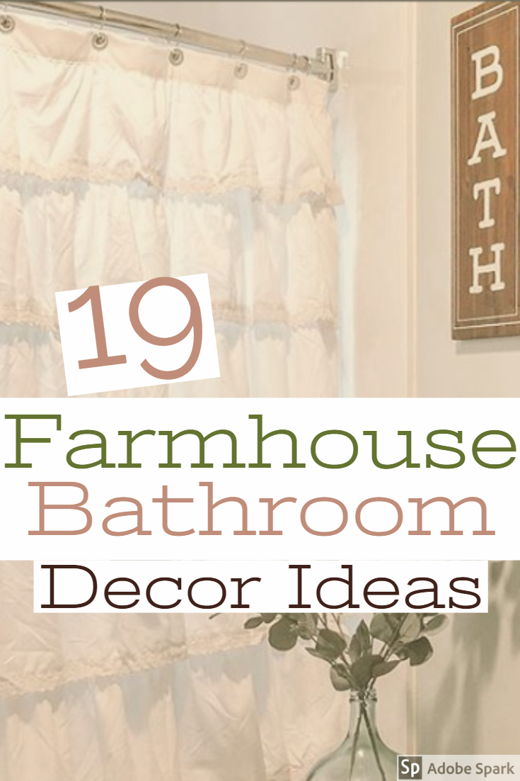 19 Farmhouse Shower Curtain Ideas To Inspire Farmhouse Bathroom