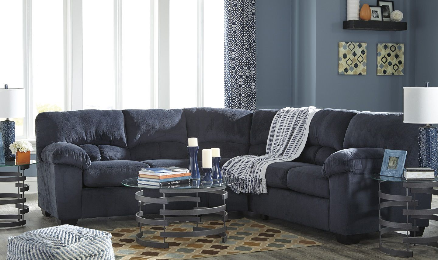 Dailey midnight blue sectional Furniture, Sectional sofa