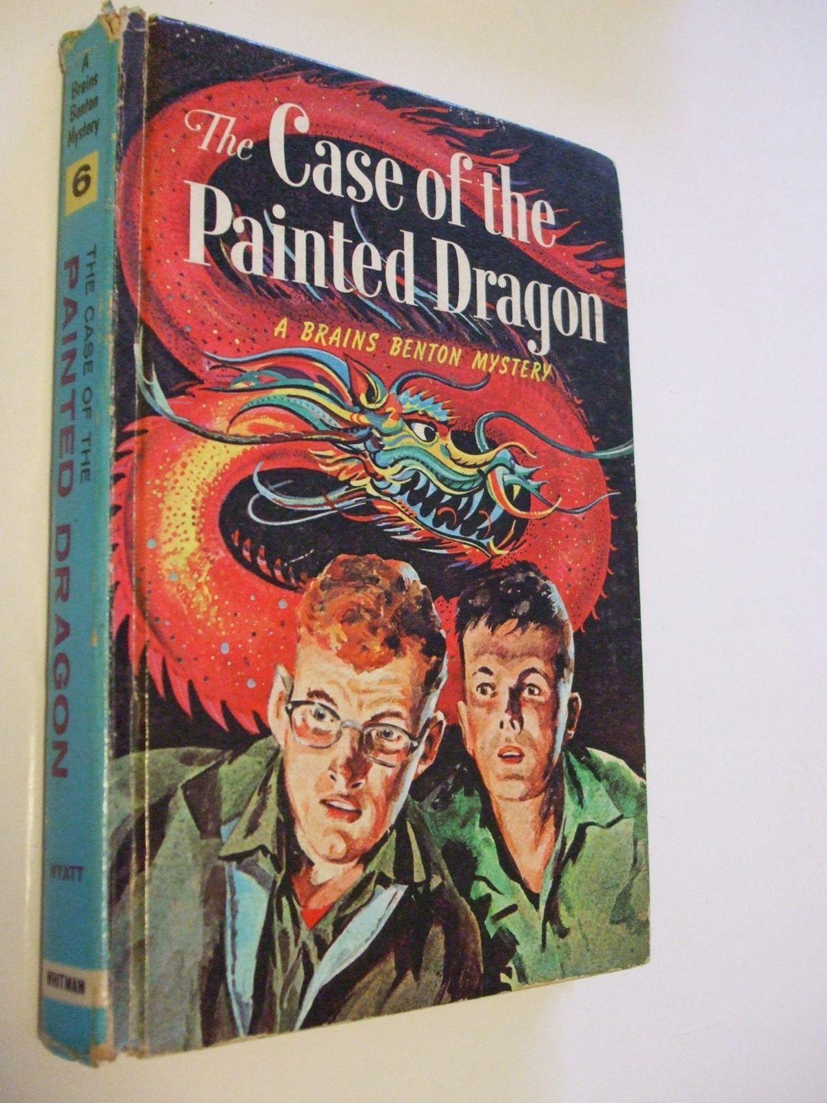 A Brains Benton Mystery Wyatt Counterfeit Coin Painted Dragon Roving Rolls Books 1960 Book Artwork Books Mystery