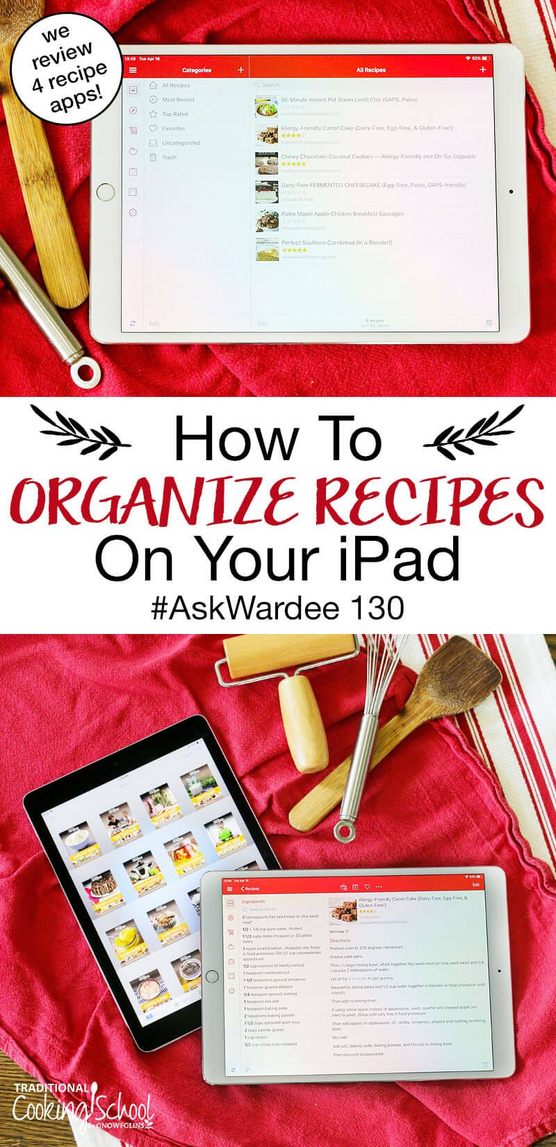 How To Organize Recipes On Your iPad AskWardee 130