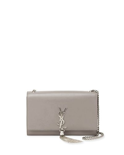 83ea2c3f9d6 V3KLY Saint Laurent Kate Monogram Medium Chain Tassel Shoulder Bag ...