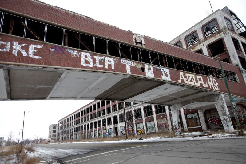 The Ten Most Unbelievable Abandoned Car Factories Abandoned