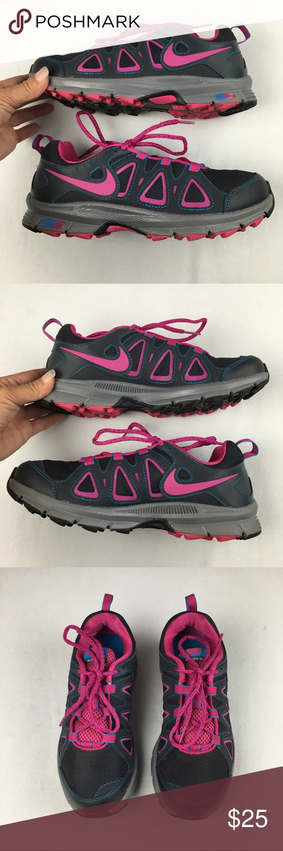 fbec352941063 Nike Air Alvord 10 Wmns 7.5 Running Gray Pink Like new A13 Nike Shoes  Athletic Shoes