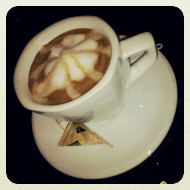 A special coffee for me.
