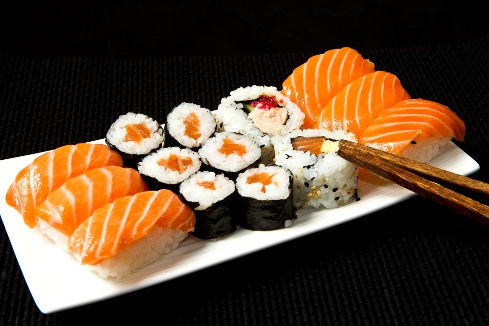 Start The Week Right And Treat Yourself With Some Sushi Salmonsushi Sushi Njrestaurants Unionnj Elizabethn In 2020 Food Salmon Sushi Japanese Food