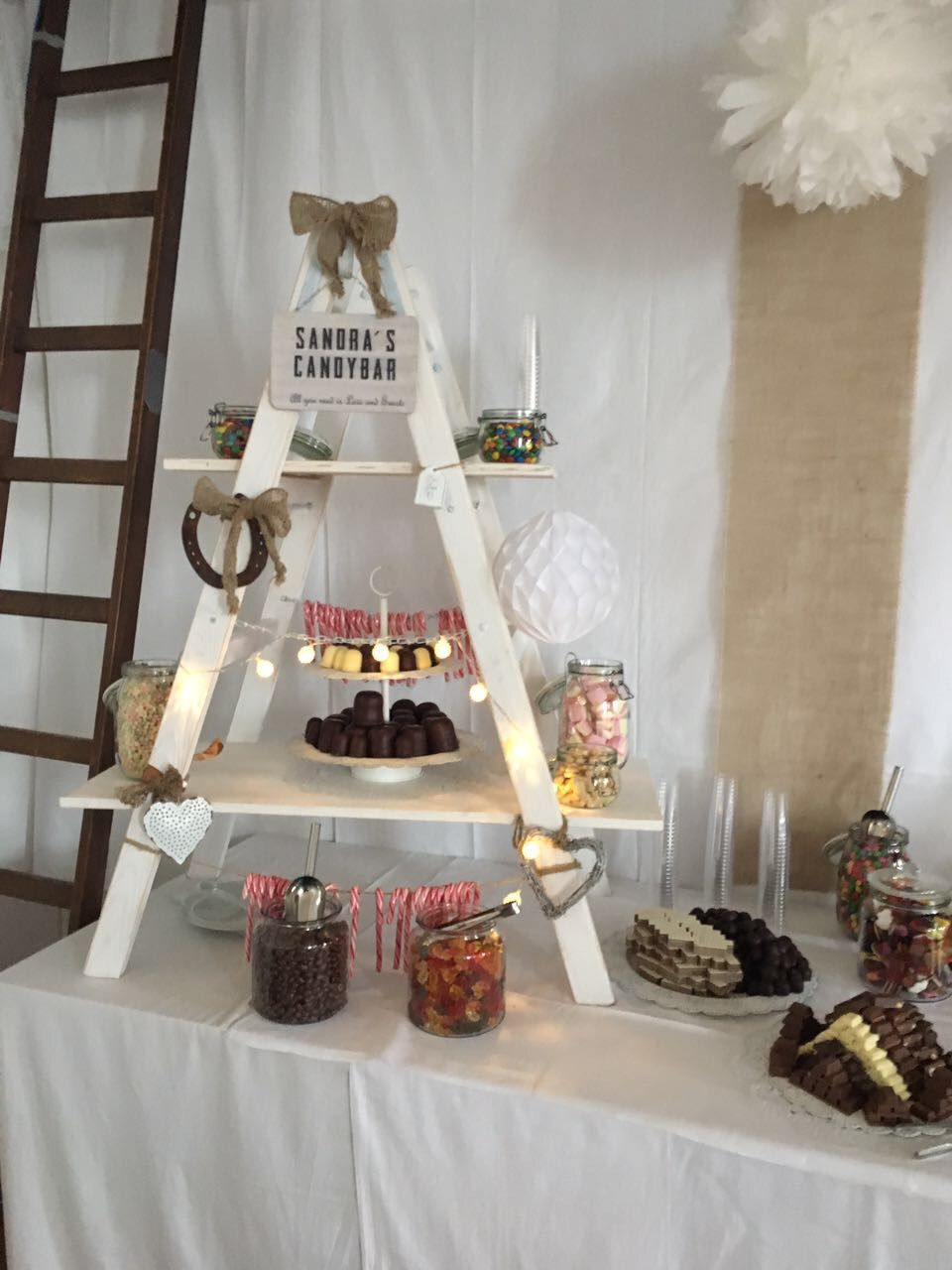 Vintage Candy Bar Diy Hochzeit Shabby Handmade By Heidi Pinterest