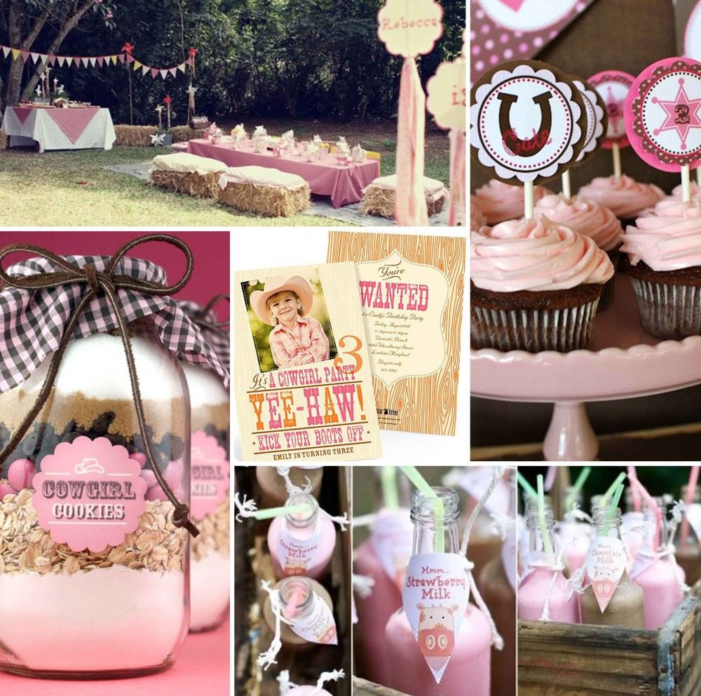 Cowgirl Birthday Decorations Western Birthday Party For Girls Party Themes Is A Cowgirl