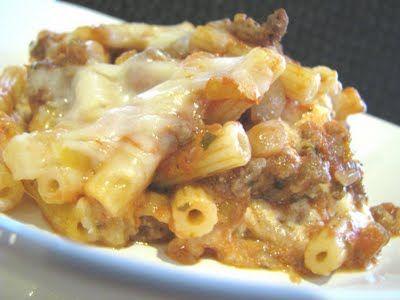 Cheesy Stuffed Baked Ziti - picky-palate.com/...