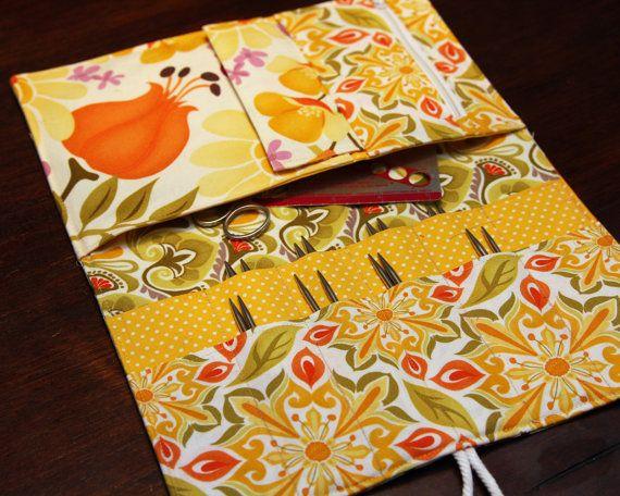 Interchangeable Knitting Needle Case PDF sewing pattern ...