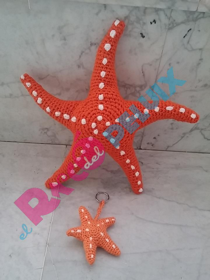 Amigurumi Estrellas De Mar Estrella De Mar Patrones De Estrellas Crochet Patrones