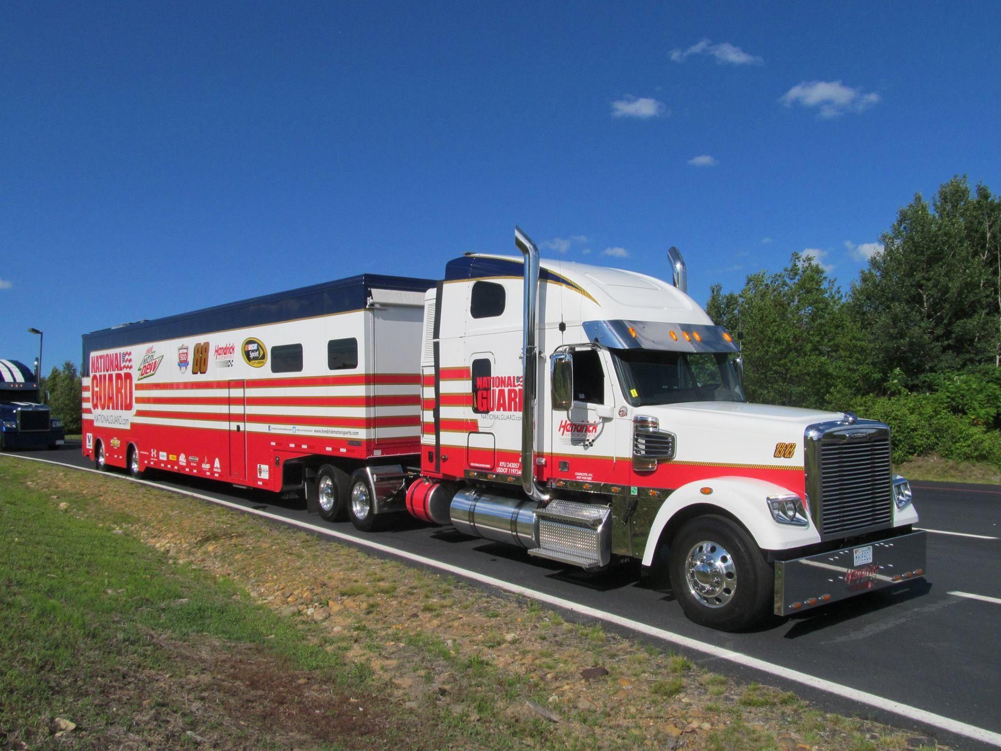 Freightliner, National Guard, Hendrick Motorsports, NASCAR