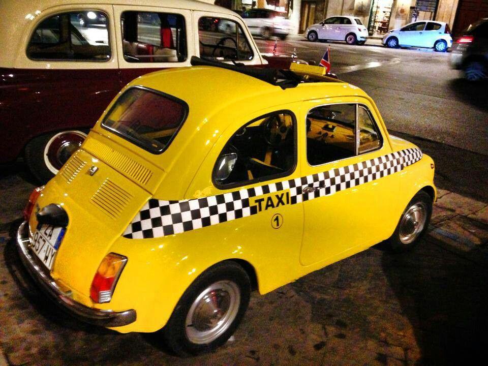 Fiat 500 Fiat 500 Fiat 500 Vintage Taxi