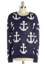 anchor sweater♥!