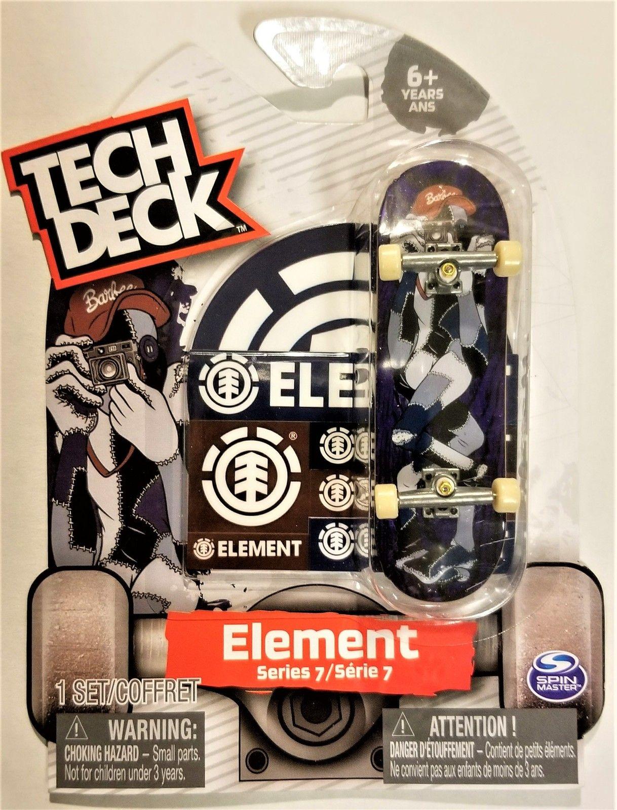 """Tech Deck Series 7 ELEMENT Finger Skateboard """"Ultra Rare"""