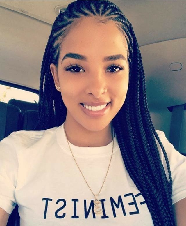 Pinterest Brittnayhendrix Cornrow Hairstyles Natural Hair Styles Long Hair Styles