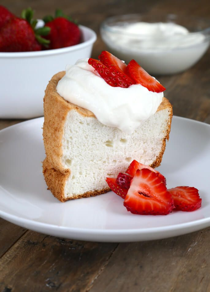 Gluten free angel food cake is made with nothing more than egg gluten free angel food cake is made with nothing more than egg whites flour forumfinder Choice Image
