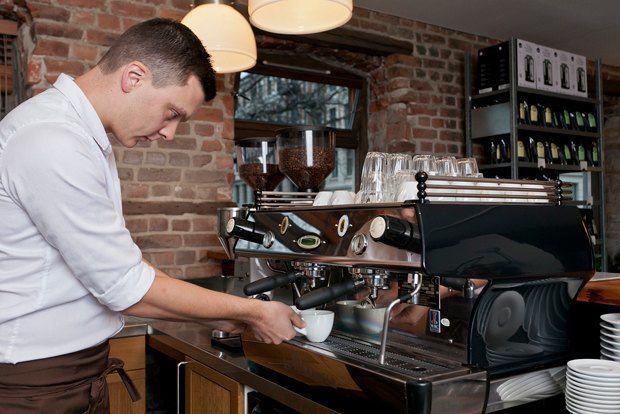 довольно маленькое кафе как нужно и с чего начинать что