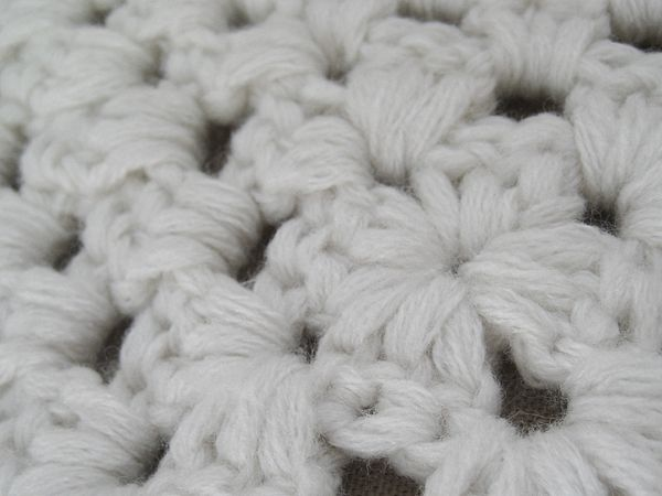 Old Fashioned Knit Afghan Pattern Bulky Yarn Vignette Sewing Ideas