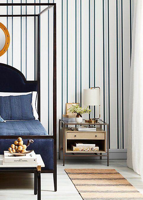 A serene bedroom escape. | Home interior design, Serene ...