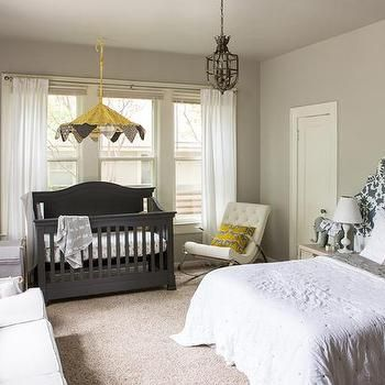 Nursery and Guest Room Combo | Bedroom | Pinterest