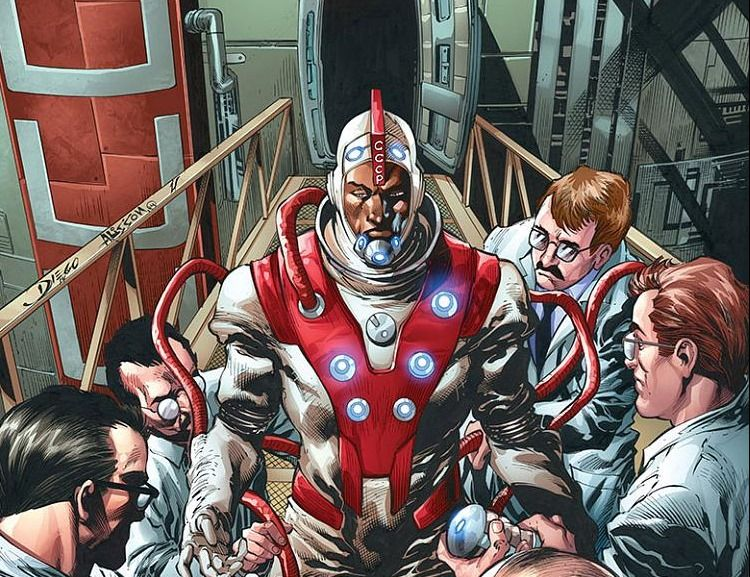 Divinity by Matt Kindt and Trevor Hairsine. Looking for a story to take you on a colorful nonsensical trip to the weirdest corners of the galaxy?
