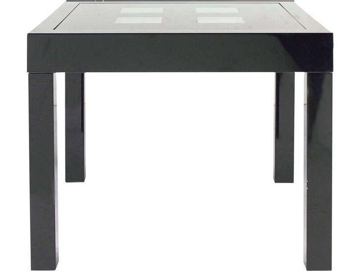 Table extensible COMETE II coloris noir Vente de Table de ...