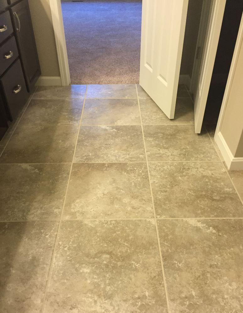 castillian gray sw92 stacked floor tile