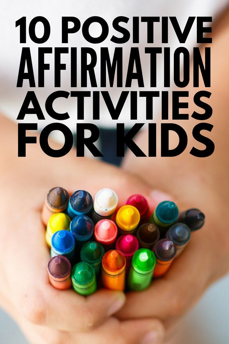Positive Affirmations for Kids: 189 Positive Things to Say to Your Child |  for kids | Pinterest | Kinder und Diy kinder