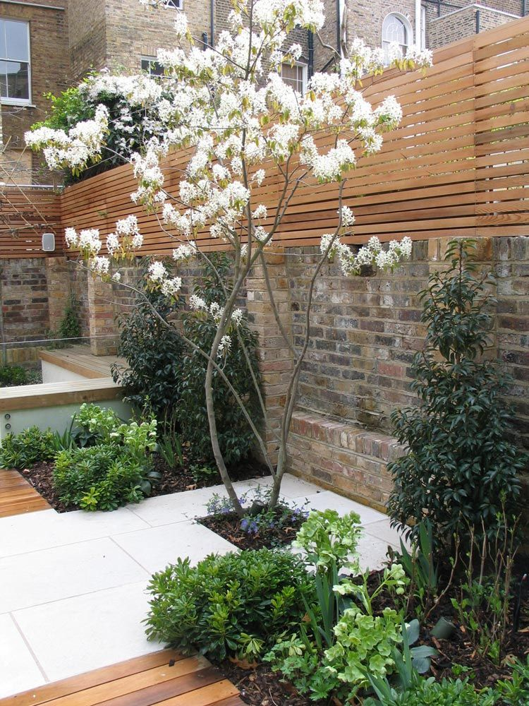Cool contemporary classic charlotte rowe garden design for Cool back garden designs