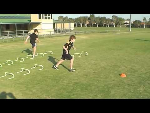 Youth Sport Speed and Agility Drills Session | Sports