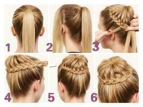 peinados para nia paso a paso pelo largo faciles paso a paso peinados faciles y - Peinados Sencillos Y Faciles